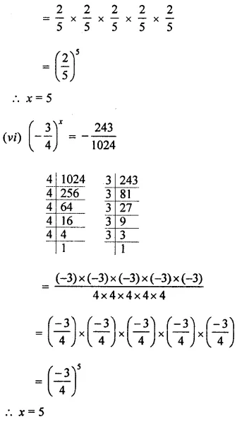 ML Aggarwal Class 7 Solutions for ICSE Maths Chapter 4 Exponents and Powers Ex 4.1 13