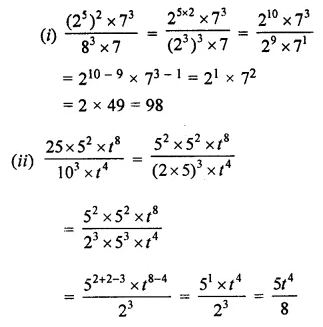 ML Aggarwal Class 7 Solutions for ICSE Maths Chapter 4 Exponents and Powers Ex 4.2 15