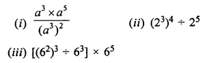 ML Aggarwal Class 7 Solutions for ICSE Maths Chapter 4 Exponents and Powers Ex 4.2 5