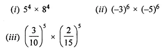 ML Aggarwal Class 7 Solutions for ICSE Maths Chapter 4 Exponents and Powers Ex 4.2 7