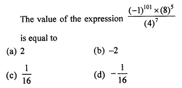 ML Aggarwal Class 7 Solutions for ICSE Maths Chapter 4 Exponents and Powers Objective Type Questions 13