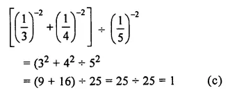 ML Aggarwal Class 7 Solutions for ICSE Maths Chapter 4 Exponents and Powers Objective Type Questions 20