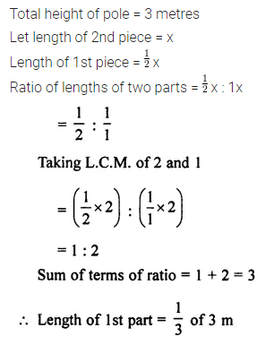 ML Aggarwal Class 7 Solutions for ICSE Maths Chapter 6 Ratio and Proportion Ex 6.1 11