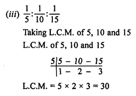 ML Aggarwal Class 7 Solutions for ICSE Maths Chapter 6 Ratio and Proportion Ex 6.1 3