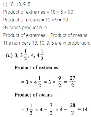 ML Aggarwal Class 7 Solutions for ICSE Maths Chapter 6 Ratio and Proportion Ex 6.2 2