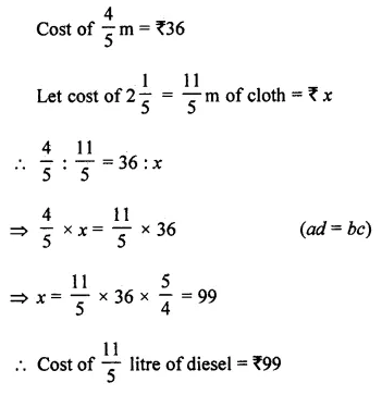 ML Aggarwal Class 7 Solutions for ICSE Maths Chapter 6 Ratio and Proportion Ex 6.3 8