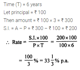 ML Aggarwal Class 7 Solutions for ICSE Maths Chapter 7 Percentage and Its Applications Ex 7.4 9