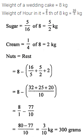 ML Aggarwal Class 8 Solutions for ICSE Maths Chapter 1 Rational Numbers Check Your Progress 19