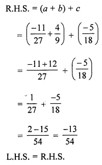ML Aggarwal Class 8 Solutions for ICSE Maths Chapter 1 Rational Numbers Ex 1.1 18