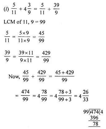 ML Aggarwal Class 8 Solutions for ICSE Maths Chapter 1 Rational Numbers Ex 1.1 4