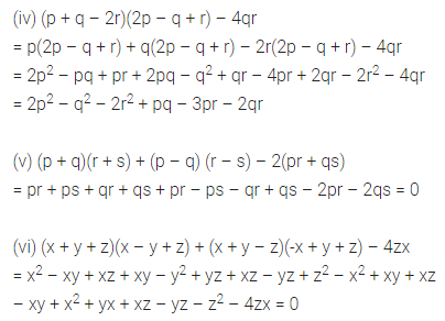 ML Aggarwal Class 8 Solutions for ICSE Maths Chapter 10 Algebraic Expressions and Identities Ex 10.3 7