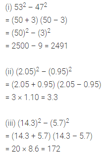 ML Aggarwal Class 8 Solutions for ICSE Maths Chapter 10 Algebraic Expressions and Identities Ex 10.5 12