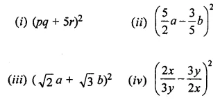 ML Aggarwal Class 8 Solutions for ICSE Maths Chapter 10 Algebraic Expressions and Identities Ex 10.5 7