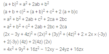 ML Aggarwal Class 8 Solutions for ICSE Maths Chapter 10 Algebraic Expressions and Identities Objective Type Questions 21
