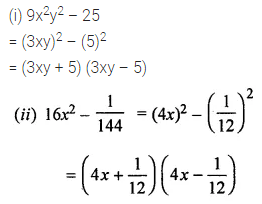 ML Aggarwal Class 8 Solutions for ICSE Maths Chapter 11 Factorisation Ex 11.3 5