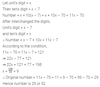 ML Aggarwal Class 8 Solutions for ICSE Maths Chapter 12 Linear Equations and Inequalities in one Variable Check Your Progress 12