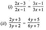 ML Aggarwal Class 8 Solutions for ICSE Maths Chapter 12 Linear Equations and Inequalities in one Variable Ex 12.1 20