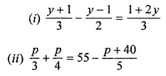 ML Aggarwal Class 8 Solutions for ICSE Maths Chapter 12 Linear Equations and Inequalities in one Variable Ex 12.1 7