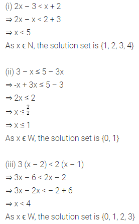 ML Aggarwal Class 8 Solutions for ICSE Maths Chapter 12 Linear Equations and Inequalities in one Variable Ex 12.3 11