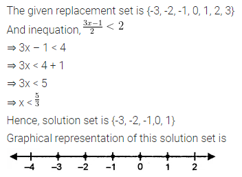 ML Aggarwal Class 8 Solutions for ICSE Maths Chapter 12 Linear Equations and Inequalities in one Variable Ex 12.3 13