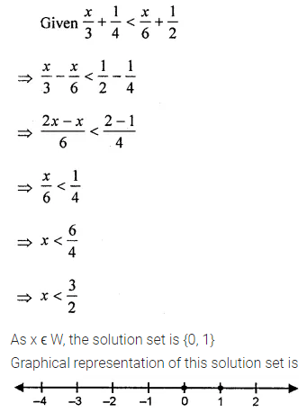 ML Aggarwal Class 8 Solutions for ICSE Maths Chapter 12 Linear Equations and Inequalities in one Variable Ex 12.3 14