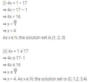 ML Aggarwal Class 8 Solutions for ICSE Maths Chapter 12 Linear Equations and Inequalities in one Variable Ex 12.3 6