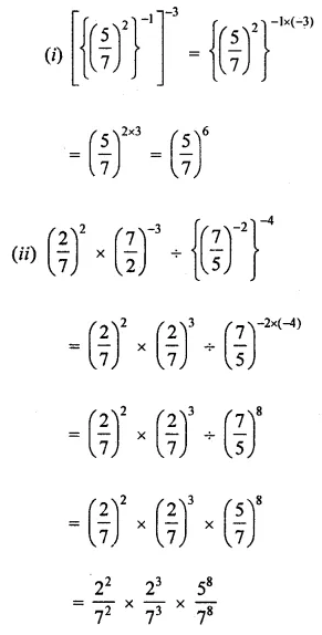 ML Aggarwal Class 8 Solutions for ICSE Maths Chapter 2 Exponents and Powers Ex 2.1 12