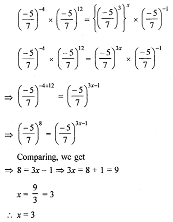 ML Aggarwal Class 8 Solutions for ICSE Maths Chapter 2 Exponents and Powers Ex 2.1 27
