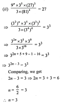 ML Aggarwal Class 8 Solutions for ICSE Maths Chapter 2 Exponents and Powers Ex 2.1 32