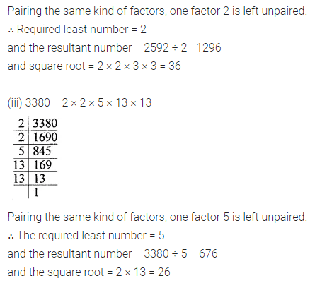 ML Aggarwal Class 8 Solutions for ICSE Maths Chapter 3 Squares and Square Roots Ex 3.3 18