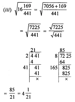 ML Aggarwal Class 8 Solutions for ICSE Maths Chapter 3 Squares and Square Roots Ex 3.4 12