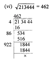 ML Aggarwal Class 8 Solutions for ICSE Maths Chapter 3 Squares and Square Roots Ex 3.4 3