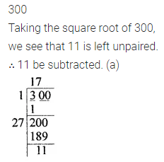 ML Aggarwal Class 8 Solutions for ICSE Maths Chapter 3 Squares and Square Roots Objective Type Questions 13