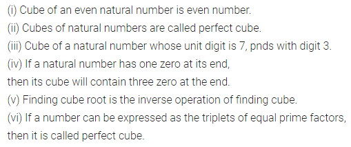 ML Aggarwal Class 8 Solutions for ICSE Maths Chapter 4 Cubes and Cube Roots Objective Type Questions 1