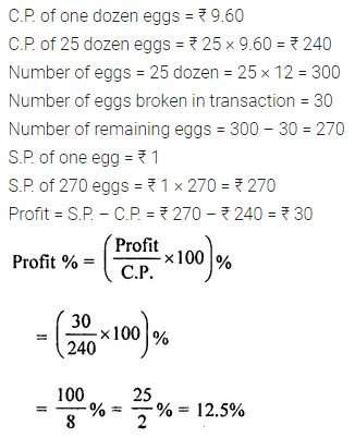 ML Aggarwal Class 8 Solutions for ICSE Maths Chapter 7 Percentage Ex 7.2 4