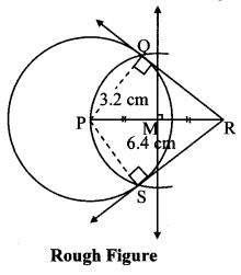 Maharashtra Board Class 10 Maths Solutions Chapter 4 Geometric Constructions Problem Set 4 5