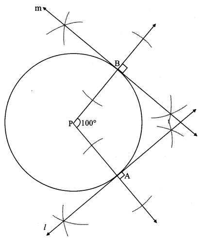 Maharashtra Board Class 10 Maths Solutions Chapter 4 Geometric Constructions Problem Set 4 8