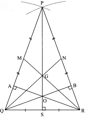Maharashtra Board Class 8 Maths Solutions Chapter 4 Altitudes and Medians of a Triangle Practice Set 4.1 6