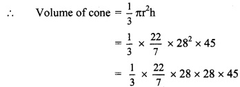 Maharashtra Board Class 9 Maths Solutions Chapter 9 Surface Area and Volume Practice Set 9.2 1