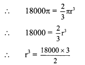 Maharashtra Board Class 9 Maths Solutions Chapter 9 Surface Area and Volume Practice Set 9.3 3