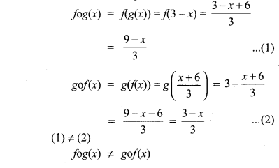 Tamilnadu Board Class 10 Maths Solutions Chapter 1 Relations and Functions Ex 1.5 2