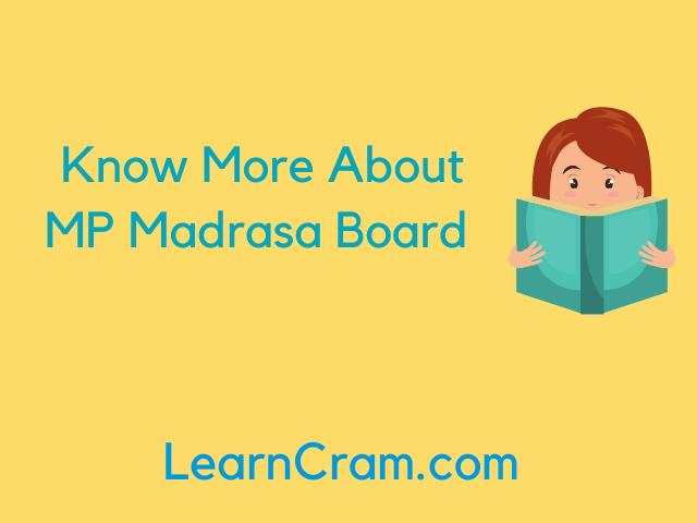 MP Madarsa Board