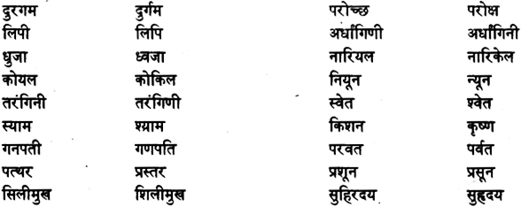 Pure and Modified Words(तत्सम-तद्भव शब्द) 2