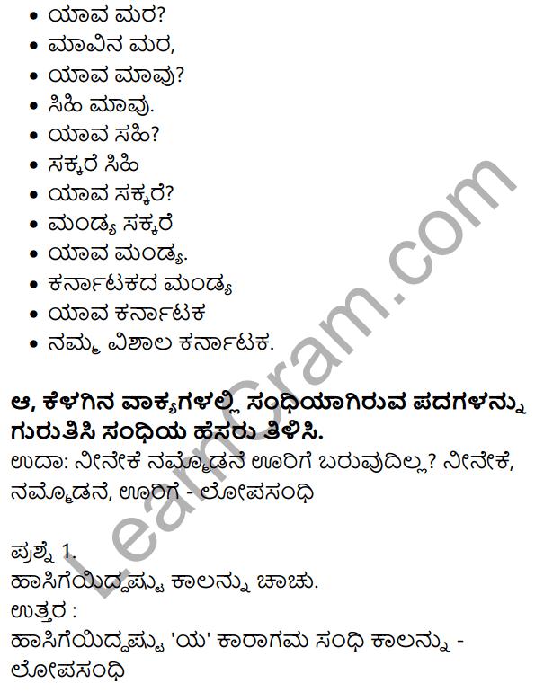 Siri Kannada Text Book Class 7 Solutions Gadya Chapter 2 Sina Settaru Namma Teecharu 6