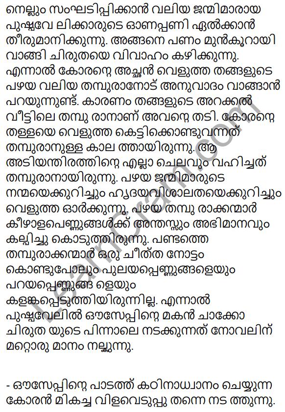 Adisthana Padavali Malayalam Standard 10 Solutions Unit 1 Chapter 1 Plavilakkanni 29