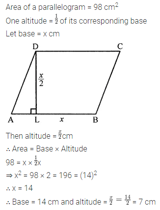 ML Aggarwal Class 8 Solutions for ICSE Maths Chapter 18 Mensuration Check Your Progress 14