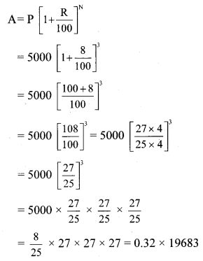 Maharashtra Board Class 8 Maths Solutions Chapter 14 Compound Interest Practice Set 14.1 2