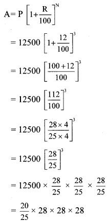 Maharashtra Board Class 8 Maths Solutions Chapter 14 Compound Interest Practice Set 14.1 4