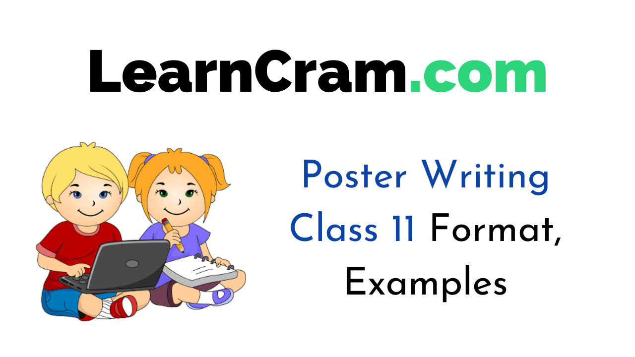 Poster Writing Class 11