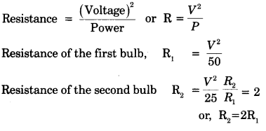 Electricity Class 10 Extra Questions with Answers Science Chapter 12 32